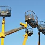Noleggio ragni e piattaforme aeree per lavori edili